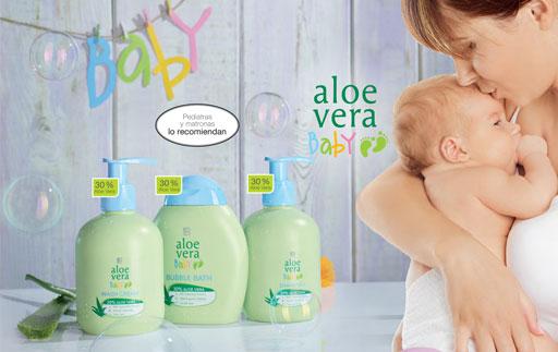 Aloe Vera Bebe - cuidado para bebes
